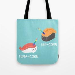 Tuna-corn & Uni-corn Tote Bag