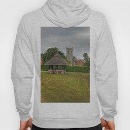 Woodbastwick village green and church Hoody