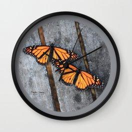 Monarchs two Wall Clock