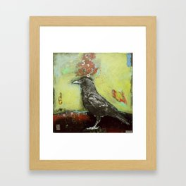 Crow3 Framed Art Print