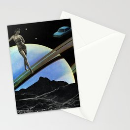 I can't see you. I'm dead Stationery Cards
