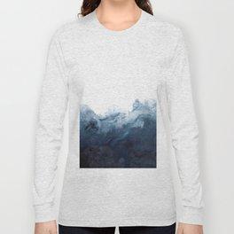 Indigo Depths No. 2 Long Sleeve T-shirt