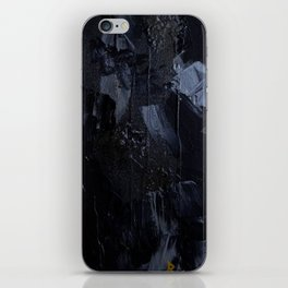 Color Blac iPhone Skin