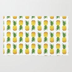 Pineapple Abstract Triangular  Rug