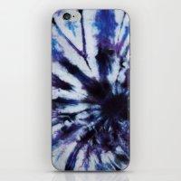 tie dye iPhone & iPod Skins featuring TIE DYE by jajoão