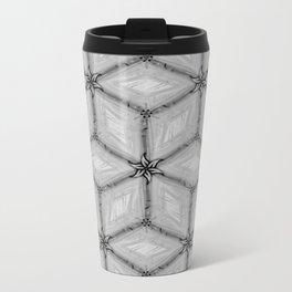 GRAY TILES Metal Travel Mug