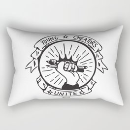 Young Creators: Unite! Rectangular Pillow