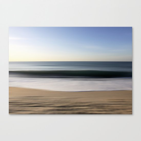 seascape blue III Canvas Print