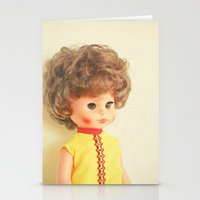 dolly parton Stationery Cards featuring Dolly by Cassia Beck