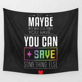 determination Wall Tapestry
