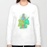 mushroom Long Sleeve T-shirts featuring Mushroom by KeijKidz