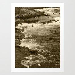 Caleta Coast Fuerteventura Tint 2 Art Print