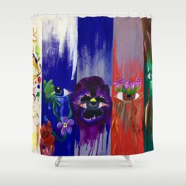 Lonnie Lee Witherspoon Sr. Shower Curtain