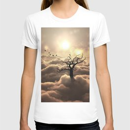 Shadows in sky T-shirt