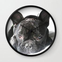 Rocco en blanco Wall Clock