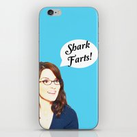 valar morghulis iPhone & iPod Skins featuring Shark Farts by beatrice