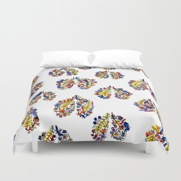 Breathe in Nature's Colors Duvet Cover