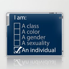 I am an individual. Laptop & iPad Skin