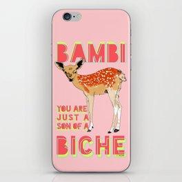 Bambi iPhone Skin