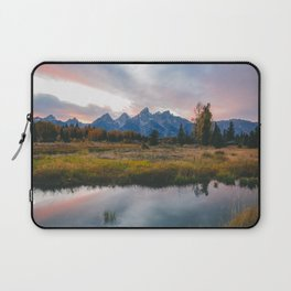 Grand Teton Sunset Laptop Sleeve