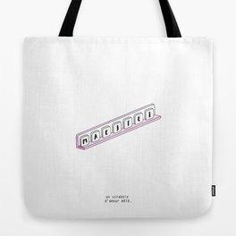 Un scrabble d'amour Tote Bag