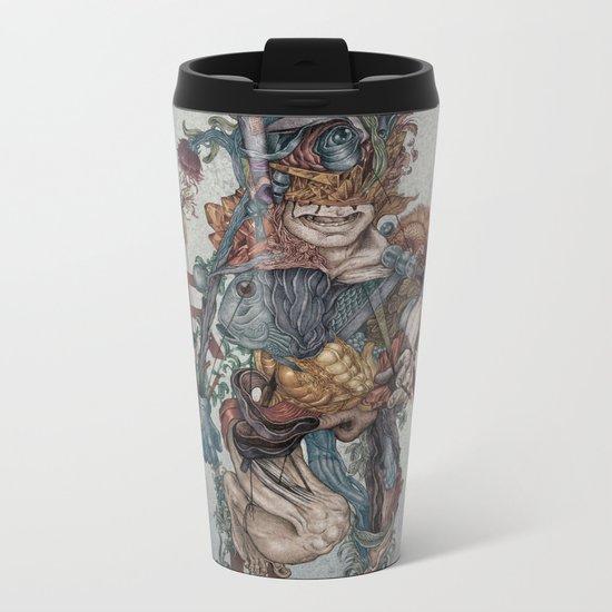 Human naturally Metal Travel Mug