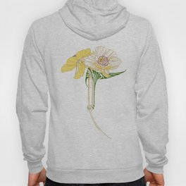 Art Nouveau Poppy Duet by Seasons K Designs Hoody