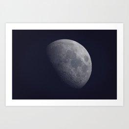 Moon Shot! Art Print