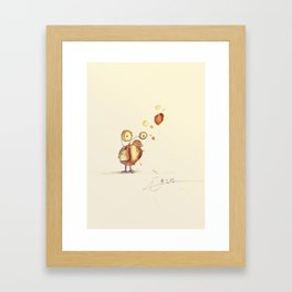 #coffeemonsters 219 Framed Art Print