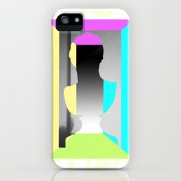 Filling the void. iPhone Case