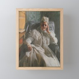 Anders Zorn - Queen Sophia Framed Mini Art Print