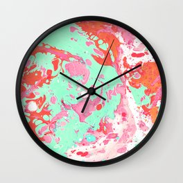 Marble texture 4 Wall Clock
