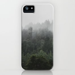 Fog in the Forest | Kaszuby Canada | Travel | Adventure | Landscape | Woods | By Magda Opoka iPhone Case