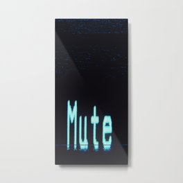 mutesort Metal Print