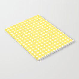 Buttercup Checkered Notebook