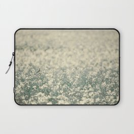 Alone in the canola field Laptop Sleeve