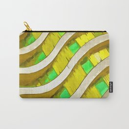 Pop Art Urban Architecture Apartment Block Carry-All Pouch