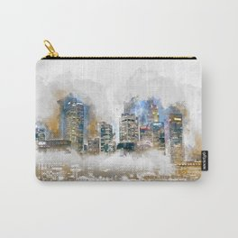 Singapore river skyline building Carry-All Pouch