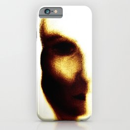 Half Face Mask iPhone Case