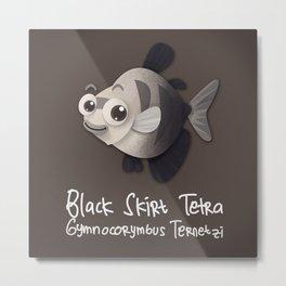 Skirt Tetra Fish Metal Print