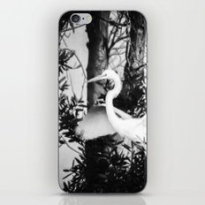 Great Egret In The Trees iPhone & iPod Skin