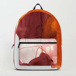 abstract painting X Backpack