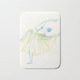 A Ballerina Bath Mat