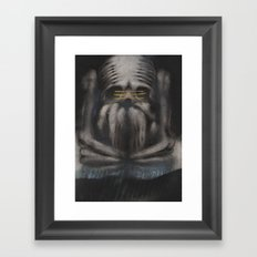 GHOST 7 Framed Art Print