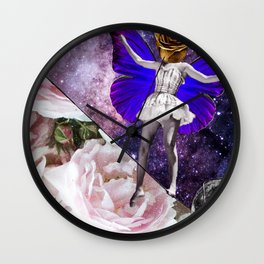 Tight Roping Through Parallel Universes, 2018 Wall Clock