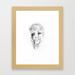 I'm Done! Framed Art Print