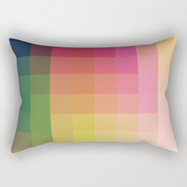Trow - Colorful Decorative Abstract Art Pattern Rectangular Pillow