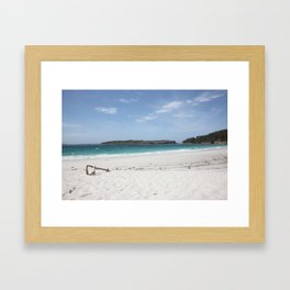 Jervis Bay/Murrays Beach Framed Art Print