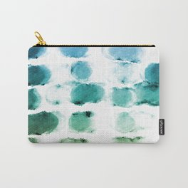 On the Beach Watercolor Painting Abstraction Carry-All Pouch