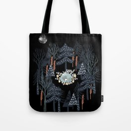 fairytale night forest Tote Bag